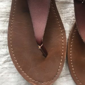 Mossimo Supply Co. Shoes - Brown leather sandals